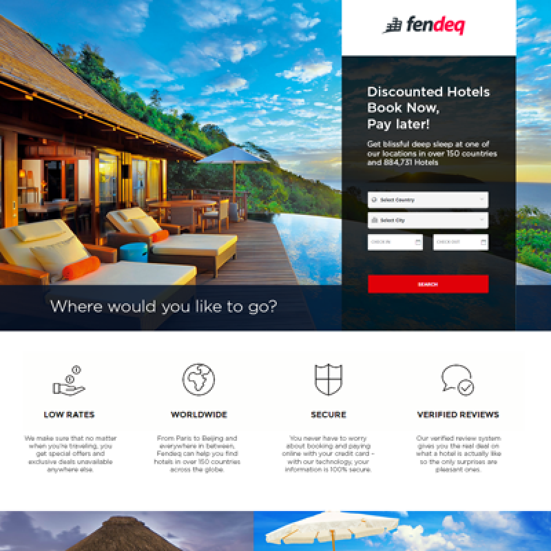 Fendeq – Hotel Booking